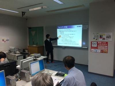IPv6ハンズオンワークショップ 実習風景1
