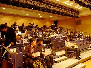 技術者のためのIPv6セミナー2009 会場の様子